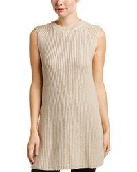 Three Dots | Metallic Wool-blend Sweater | Lyst