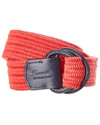 Façonnable - Leather-trim Belt - Lyst