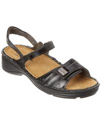 3c84d5d1a2fe71 Lyst - Naot Papaya Leather Sandal in Brown