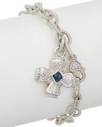 Judith Ripka - Silver 0.56 Ct. Tw. Gemstone Bracelet - Lyst