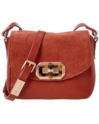 Foley + Corinna - Foley + Corinna Whitney Leather & Suede Crossbody - Lyst