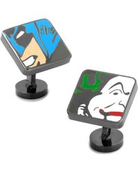Star Wars - Dc Comics Batman And Joker Mash Up Cufflinks - Lyst
