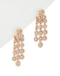 Effy - Fine Jewelry 14k Rose Gold 1.55 Ct. Tw. Diamond Drop Earrings - Lyst