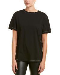 Helmut Lang - Contrast Stitch T-shirt - Lyst