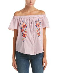 Jealous Tomato - Off-the-shoulder Top - Lyst