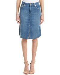 James Jeans - Lana Pencil Skirt - Lyst