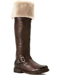 Frye - Valerie Shearling Boot - Lyst