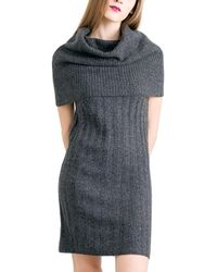 Quinn - Rose Cashmere Dress - Lyst