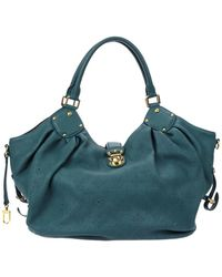 Louis Vuitton - Limited Edition Teal Monogram Mahina Leather Xl - Lyst