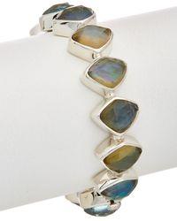Stephen Dweck - Borealis Silver Gemstone, Mother-of-pearl, & Pearl Bracelet - Lyst