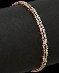 Meira T - 14k Two-tone 2.29 Ct. Tw. Diamond Tennis Bracelet - Lyst