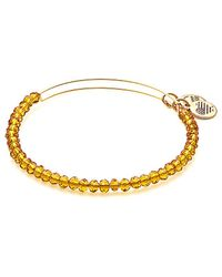 ALEX AND ANI - Aurelia Brilliance Beaded Bangle - Lyst