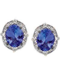 Le Vian - ® 14k 2.23 Ct. Tw. Diamond & Tanzanite Earrings - Lyst