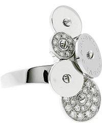 BVLGARI - Bulgari 18k 0.40 Ct. Tw. Diamond Ring - Lyst