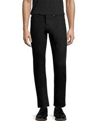 Saint Laurent - Paris Solid Slim Pant - Lyst