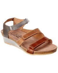 Naot - Goddess Leather Sandal - Lyst