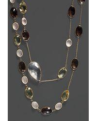Effy - Fine Jewelry 14k 114.90 Ct. Tw. Crystal Quartz Necklace - Lyst