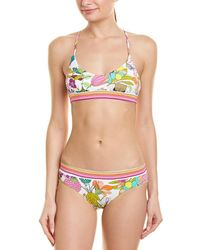 Trina Turk - 2pc Key West Botani Bikini Set - Lyst