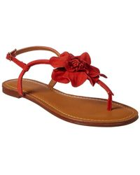 Chocolat Blu - Bao Leather Sandal - Lyst
