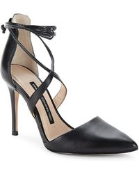 French Connection - Elise Strappy Point Toe Pump - Lyst