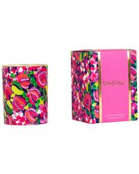 Lilly Pulitzer - Wild Confetti Glass Candle - Lyst