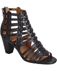 Corso Como - Cour Leather Heeled Sandal - Lyst
