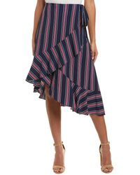 Laundry by Shelli Segal Wrap Skirt