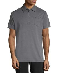 J.Lindeberg - Golf Mikael Chest Patch Polo - Lyst