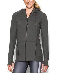 Under Armour - Women's Varsity Fleece Full Zip - Lyst