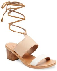 Soludos - Leather Ankle-strap Sandal - Lyst