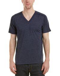 Splendid - Mills V-neck T-shirt - Lyst