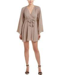 Olivaceous | Kimono Sleeve A-line Dress | Lyst