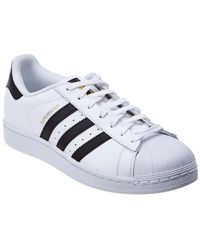 adidas - Superstar Leather Sneaker - Lyst