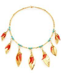 Aurelie Bidermann - Monterosso Collar Necklace - Lyst