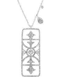 Meira T - 14k 0.85 Ct. Tw. Diamond Necklace - Lyst