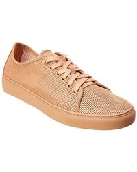 Donald J Pliner - Mesh & Leather Trainer - Lyst