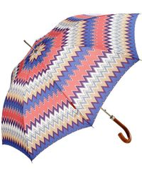 Missoni - Matteo Zig Zag Automatic Umbrella - Lyst