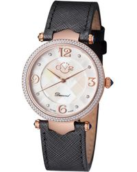 Gv2 - Womens Diamond Leather Watch - Lyst