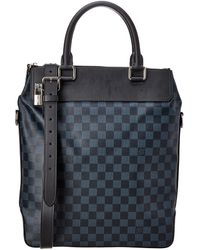 Louis Vuitton - Damier Cobalt Canvas Greenwich - Lyst