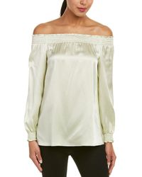 Lafayette 148 New York Raelyn Silk Top