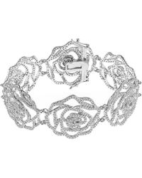 CZ by Kenneth Jay Lane - Plated Bracelet - Lyst