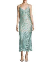ABS By Allen Schwartz - Abs By Allen Schwartz Lace Sheath Dress - Lyst