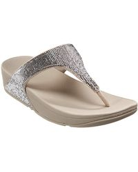 5a101f8e6dceca Fitflop   s Electra Micro Toe-post Open Sandals - Lyst