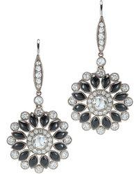 Kwiat - Vintage 18k 1.12 Ct. Tw. Diamond Drop Earrings - Lyst