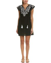 Debbie Katz - Embroidered Tunic - Lyst