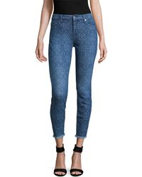 7 For All Mankind - 7 For All Mankind Ankle Skinny Jeans - Lyst