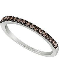 Le Vian - ® Chocolatier® 14k 0.24 Ct. Tw. Diamond Ring - Lyst