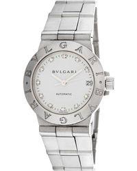BVLGARI - Bulgari Diagano Diamond Watch - Lyst