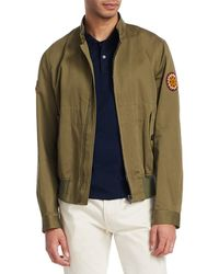 Roberto Cavalli - Blusotto Ricamo Patch Bomber Jacket - Lyst