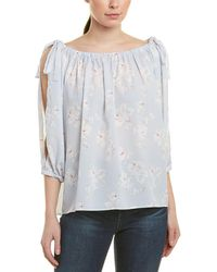 ae3b04326fd Free People Mint Julep Off The Shoulder Top in Black - Lyst
